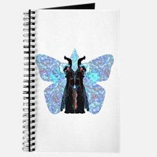 black and blue butterfly Journal