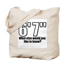 Funny Tall Tote Bag
