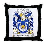 Czernicki Family Crest Throw Pillow