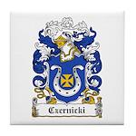 Czernicki Family Crest Tile Coaster