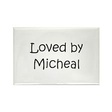 Unique Micheal Rectangle Magnet