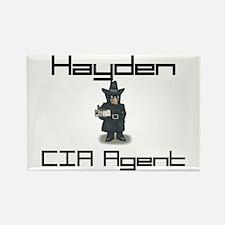 Hayden - CIA Agent Rectangle Magnet