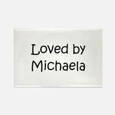 Funny Michaela Rectangle Magnet