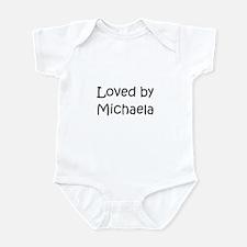 Funny Michaela Infant Bodysuit