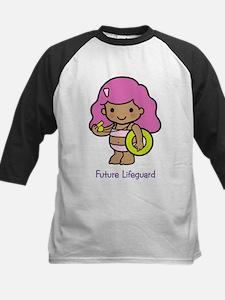 Future Lifeguard - girl Kids Baseball Jersey