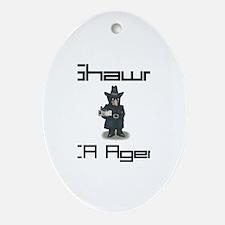 Shawn - CIA Agent Oval Ornament