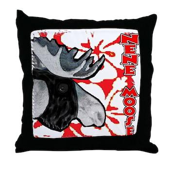 Nene Moose Throw Pillow