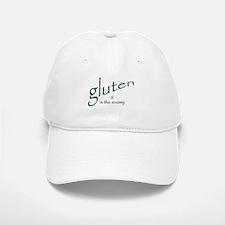 gluten is the enemy Baseball Baseball Cap