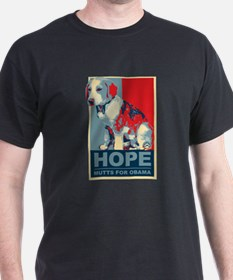Hope Mutts for Obama, Puppies T-Shirt