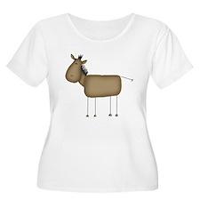 Stick Figure Horse T-Shirt