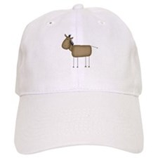 Stick Figure Horse Baseball Cap