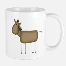 Stick Figure Horse Mug