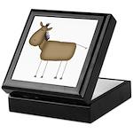 Stick Figure Horse Keepsake Box