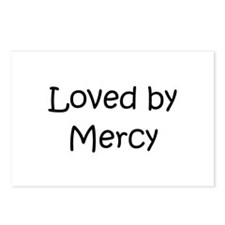 Funny Love mercy Postcards (Package of 8)