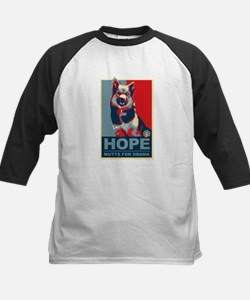 Hope Mutts for Obama, Shepard Tee