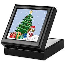 Beagle Christmas Keepsake Box
