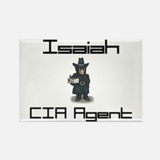 Isaiah - CIA Agent Rectangle Magnet