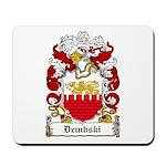 Dembski Family Crest Mousepad