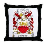 Dembski Family Crest Throw Pillow
