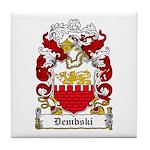 Dembski Family Crest Tile Coaster