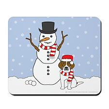 Beagle Holiday Mousepad