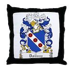 Doliwa Family Crest Throw Pillow