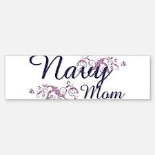 Navy Mom Bumper Bumper Bumper Sticker