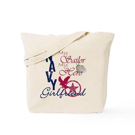 Navy Girlfriend - Eagle Tote Bag