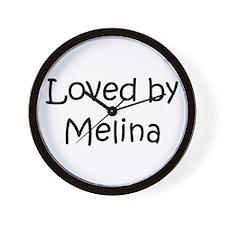 Funny Melina Wall Clock