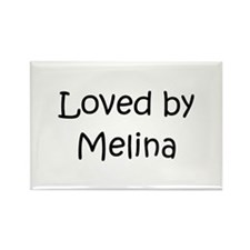 Cute Melina Rectangle Magnet