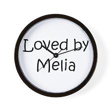 Unique Melia Wall Clock