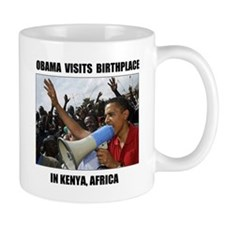 BORN IN KENYA Mug