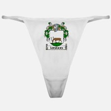 Lennon Coat of Arms Classic Thong