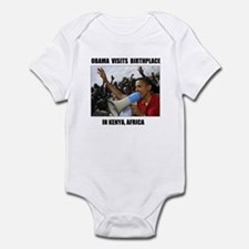 BORN IN KENYA Infant Bodysuit