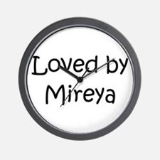 Cute Mireya Wall Clock