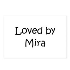 Unique Mira Postcards (Package of 8)