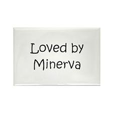 Funny Minerva's Rectangle Magnet