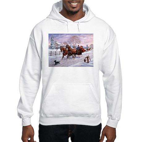 Sleigh Ride Hooded Sweatshirt