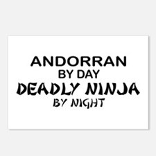 Andorran Deadly Ninja by Night Postcards (Package