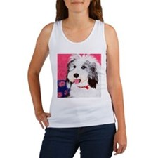 dog_oes_q01 Women's Tank Top