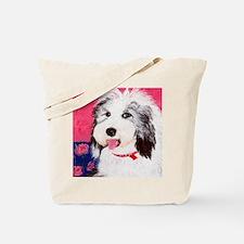 dog_oes_q01 Tote Bag