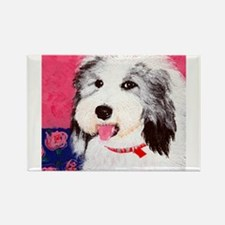 dog_oes_q01 Rectangle Magnet