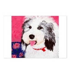 dog_oes_q01 Postcards (Package of 8)