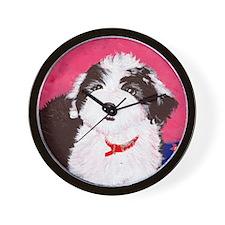 dog_oes_q02 Wall Clock