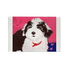 dog_oes_q02 Rectangle Magnet (10 pack)