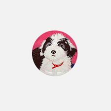 dog_oes_q02 Mini Button