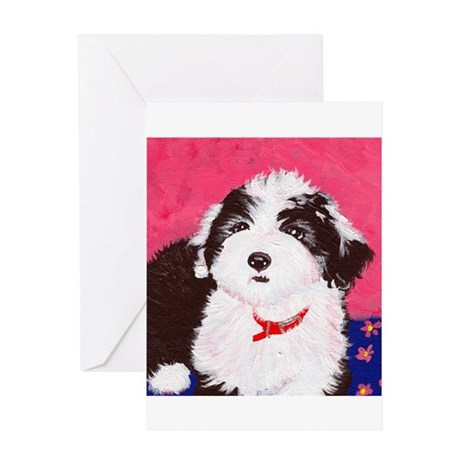 dog_oes_q02 Greeting Card