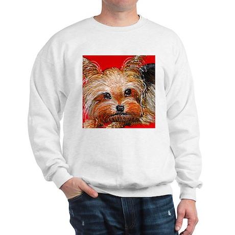 dog_yorkie_q01 Sweatshirt