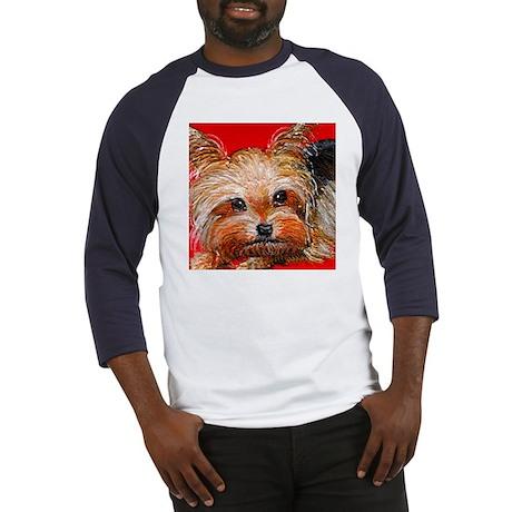 dog_yorkie_q01 Baseball Jersey