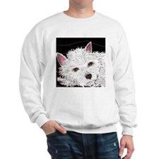 dog_westie_q01 Sweatshirt